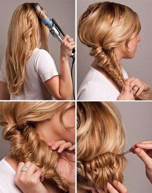 Летние причёски на каждый день на длинные волосы