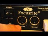 Что такое звуковая карта обо всем по немногу focusrite saffire pro 24 dsp