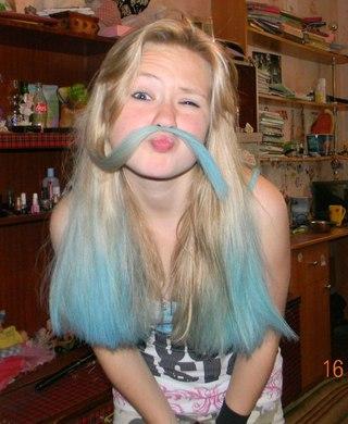 Можно ли покрасить гуашью волосы