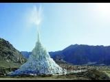 Инженер оживил Гималаи с помощью ледяных ступ