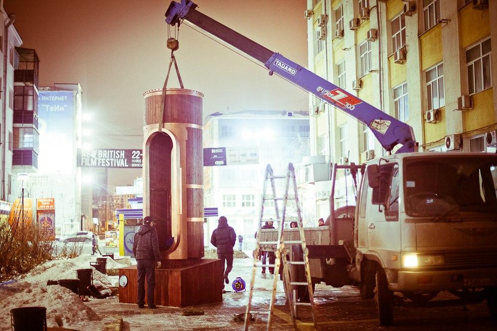 Барометр настроения в стиле стимпанк появился в Екатеринбурге (Фото 12)