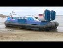 По воде, и не только: как на Оби прошли испытания новых вездеходов на воздушной подушке