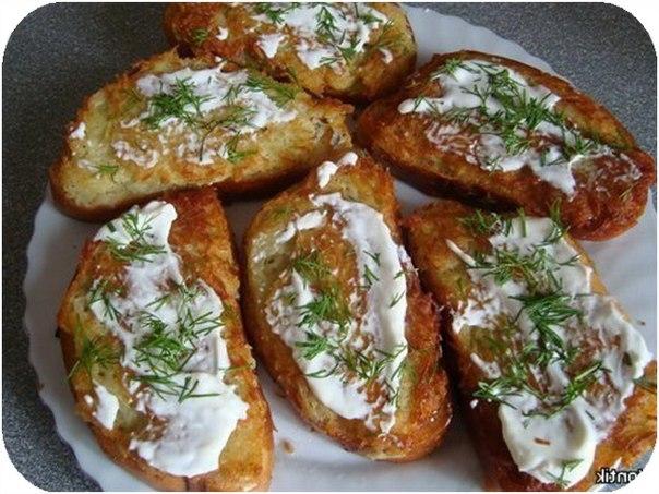 Бутерброды с картошкой рецепты с фото