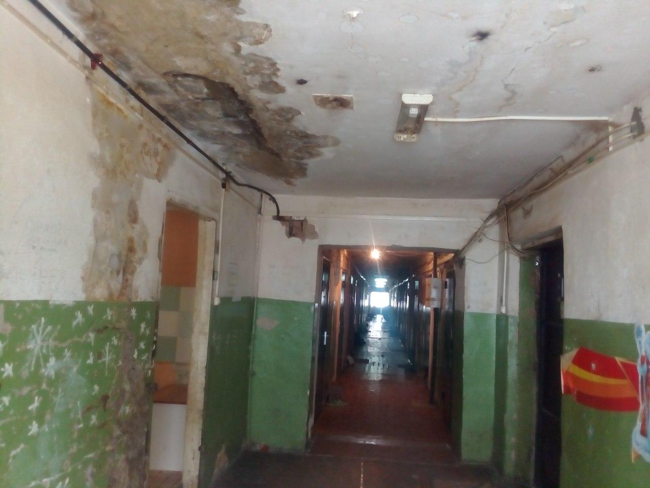 Жители тюменского общежития боятся идти в душ 3