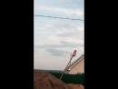НЛО Рыжая прилетела И воздействовала Анамалии Изумрудной Долине