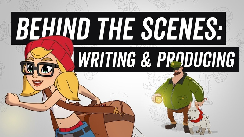 Subway Surfers The Animated Series - Behind The Scenes - Writing Producing