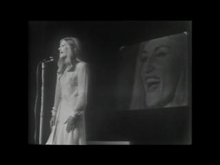 Dalida Hene ma tov 12 02 1966 Music hall de France