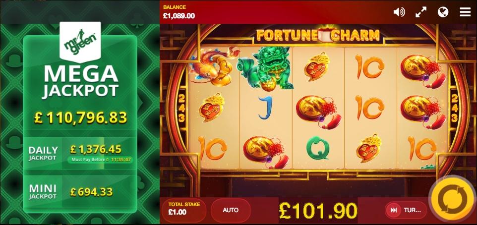 Вулкан: игровые автоматы Fortune Charm