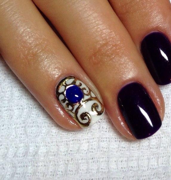 Дизайн Коротких Ногтей Шеллаком Фото Новинки