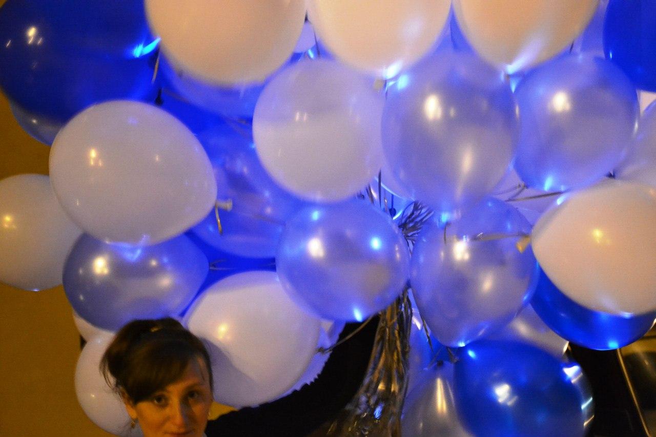 Как сделать шар сюрприз из воздушных шаров. - Своими руками 30