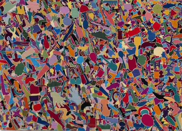 Алигьеро Боэтти ( Alighiero e Boetti - Алигьеро и Боэтти, 16 декабря 1940 1994) - итальянский художник-концептуалист, член движения Arte Povera. Наиболее известен серией карт мира, Mappa,