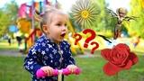 Даша спасает фею Динь - Динь! МУЛЬТИК, ФИЛЬМ ДЛЯ ДЕТЕЙ Даша в парке во время игры вырастила цветок