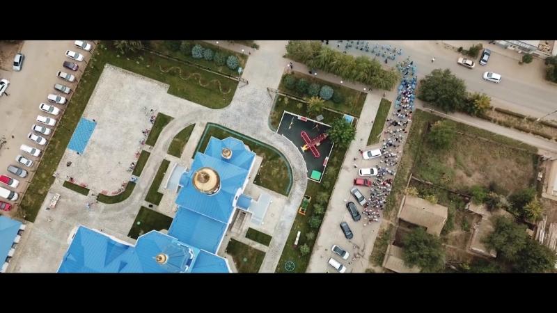 Открытие детской площадки на Сретение Владимирской иконы Божьей Матери