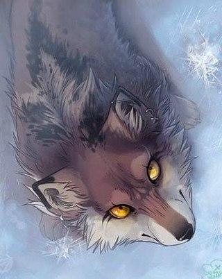 волки картинки аниме красивые
