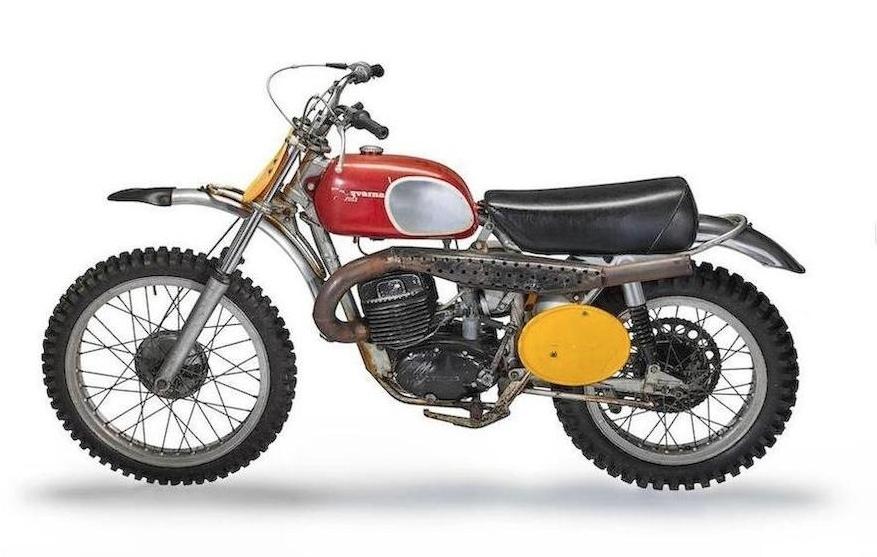 Мотоцикл Husqvarna 400 Cross из фильма «Каждое воскресенье» продадут с аукциона
