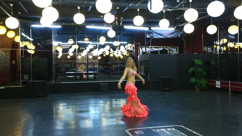 Открытый рейтинговый чемпионат Сибири по восточным танцам Raks al malak. г. Новосибирск - 2017 г. Табла соло. 1 место.