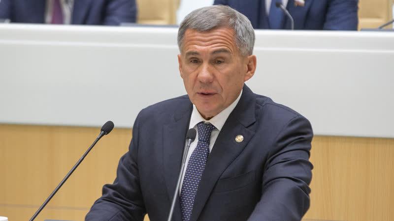 В рамках «Дней региона» в СФ выступил Президент Республики Татарстан Р. Минниханов