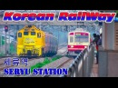 Trainspotting at the Seryu Station 세류역 트레인 스포팅 서울 메트로 지하철 1 Трейнспоттинг на станции С