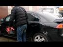 Обработка автомобиля сухим туманом антитабак