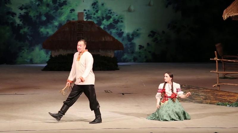 Дуэт Андрейки и Яринки из оперетты Свадьба в Малиновке