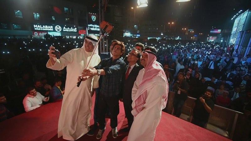 Shahrukh Khan in Kuwait Kalyan Jewellers