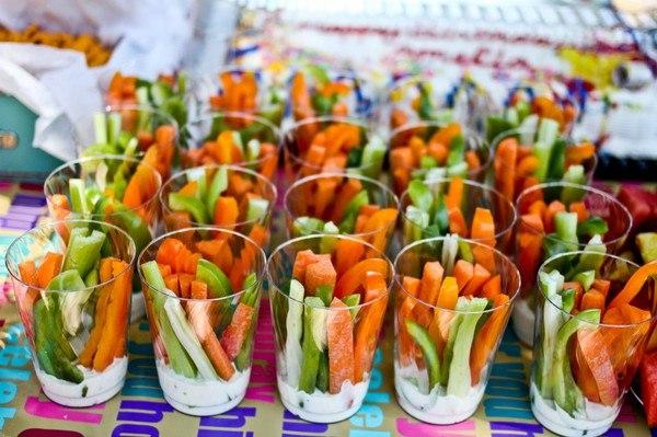 Канапе овощное рецепты с фото