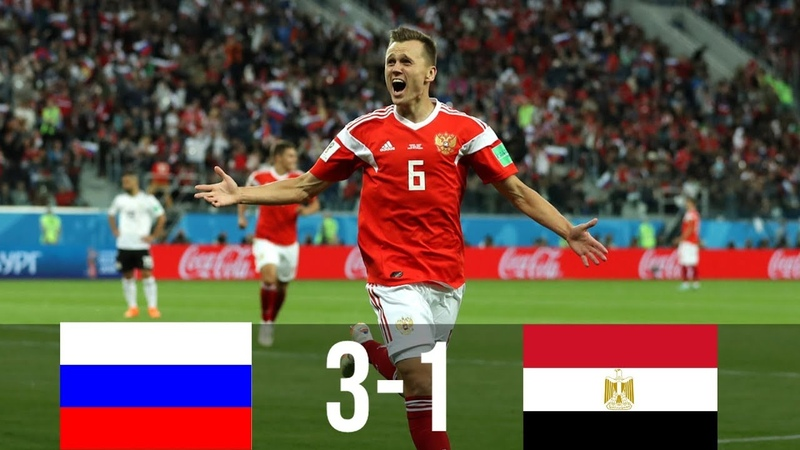 RUS vs EGY 3-1 - All Goals Extended Highlights - WC 19/06/2018 HD