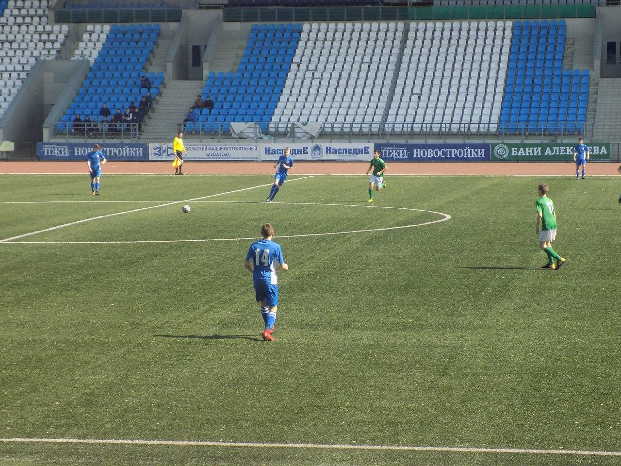 Команды СШ «Витязь» 2001 и 2003 г.р. в 12 туре Первенства России одержали две победы
