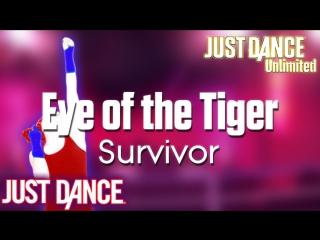 Just Dance Unlimited   Eye of the Tiger - Survivor   Just Dance 1