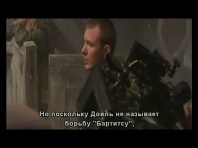 Sherlock Holmes behind the scenes Figth 2 rus subtit