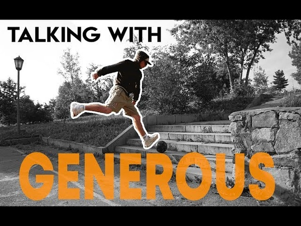 Talking with GENEROUS   Edgar Davids, panna, street football