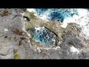 Облет объекта съемки с постепенным раскрытием вида