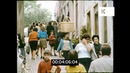 Coimbra Portugal 1960s, Street Scenes in HD from 35mm