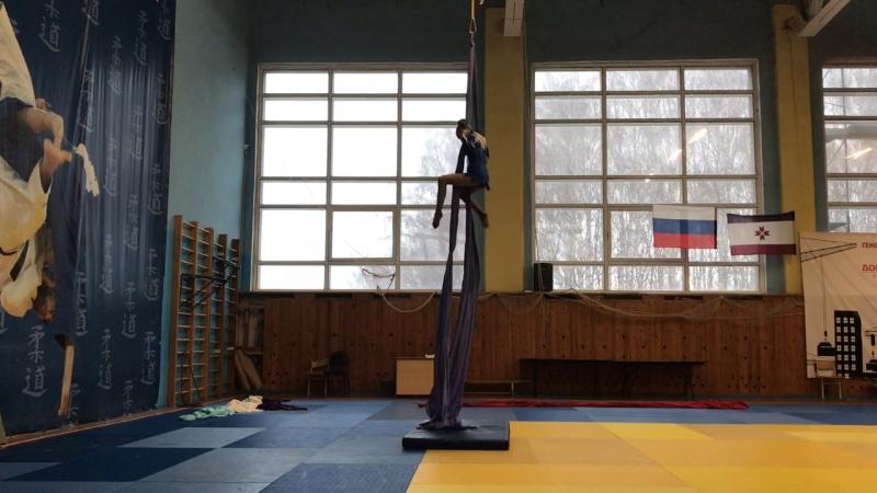 Афонина Анастасия, воздушное полотно, дети