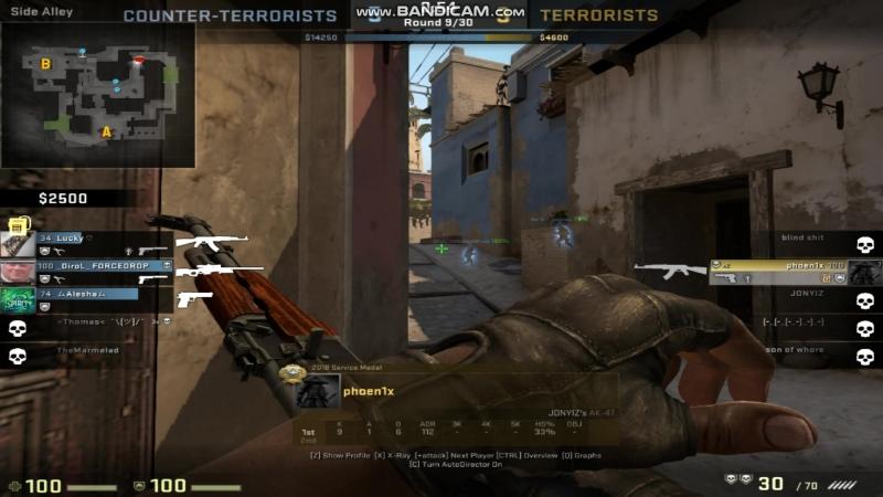 Ace | clutch 1 vs 3