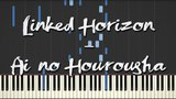 Ai no Hourousha (Linked Horizon) - Synthesia Piano Tutorial