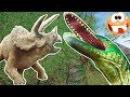 Funny dinosaurs Cartoon for kids Забавные динозавры Мультик про динозавров для детей The Isle