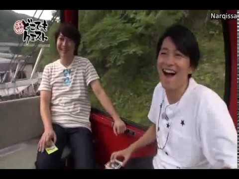[engsub] DokoQue Cut_Shimono Hiros fear of height in Gondola