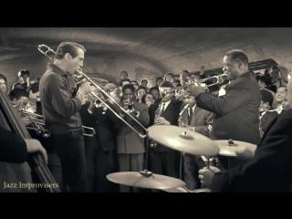 Louis Armstrong, Sidney Poitier Paul Newman