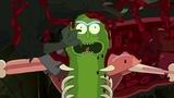 Рик и Морти (Rick And Morty) - Сражение Огурчика Рика с крысами!