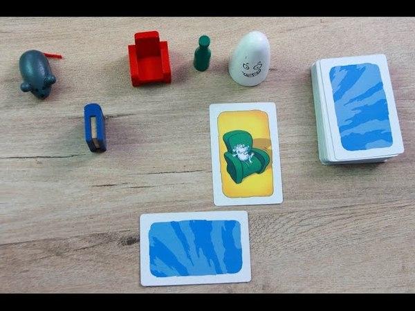 Настольная игра Geistesblitz (Барабашка) - обзор и правила