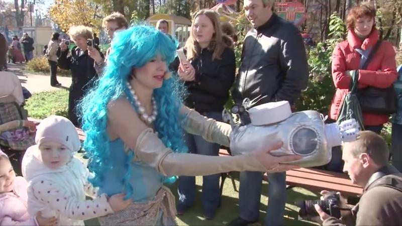 У самого синего моря Кукольный спектакль Фрагмент