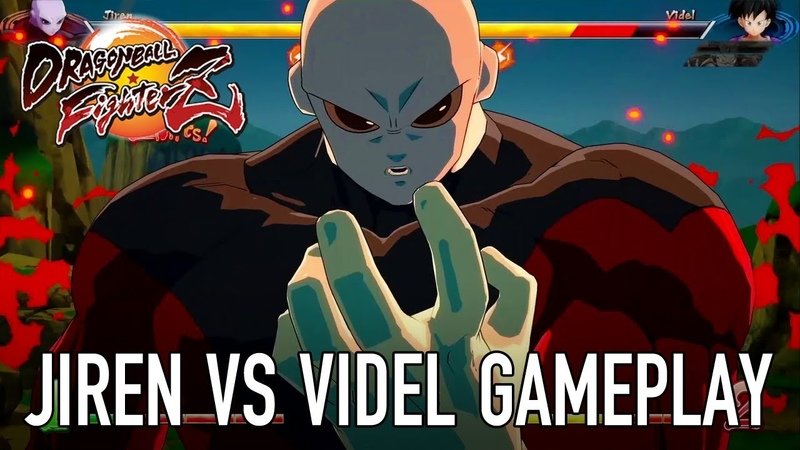 Dragon Ball FighterZ - PS4XB1PCSWITCH - Jiren VS Videl (Gameplay)