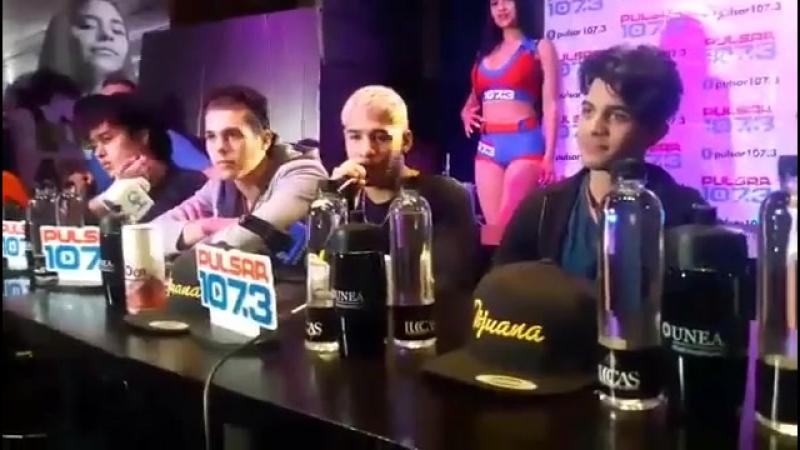 CNCO entrevista en Tijuana, Mexico. ¿Colaboración con Ricky Martin؟ ¿Qué quieren que les regalen؟