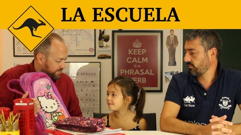 Inglés para niños   Lección 9: La escuela   Canguro English