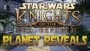 Разработчики ремейка Star Wars: KotOR на UE4 показали Тарис, Манаан, Кашиик и другие планеты