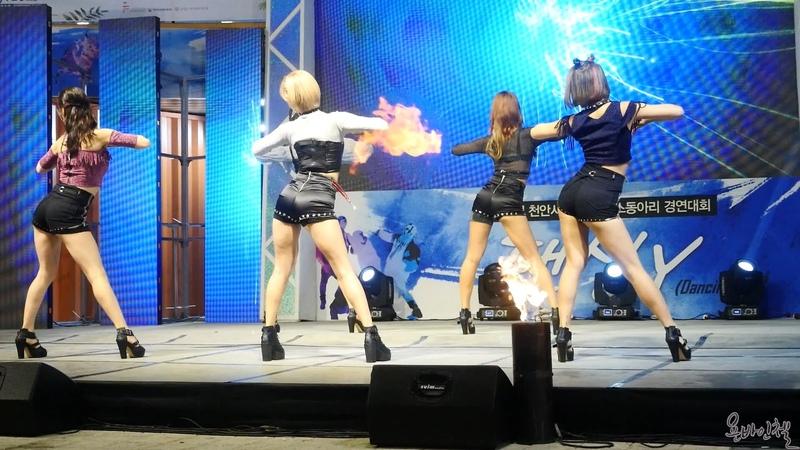 160924 배드키즈(BADKIZ) 이리로 [제 3회 천안시 청소년 댄스동아리 경연대회] 직캠 by 욘바