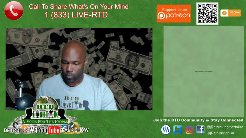 RTD Live Talk w/ Mike: Let's Talk Stocks, Metals KanyeWest (Detroit's 1 Talk Show)