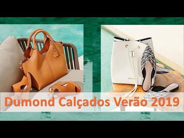 Dumond Calçados e Bolsas Verão 2019 - Nova Coleção