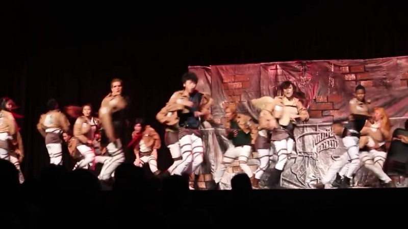 AX 2014 - Survey Corps Masquerade Halftime Part 22